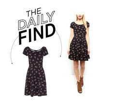 """""""Daily Find: New Look Floral Skater Dress"""" by polyvore-editorial ❤ liked on Polyvore featuring DailyFind"""