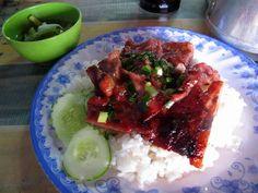 bai sach chrouk (cambodian pork with rice)