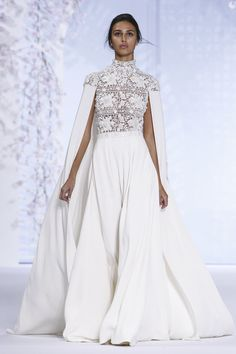 Ralph & Russo Couture Spring Summer 2016 Paris...I see pants again. Beautiful. Cheaper to have custom-made than purchasing from salon.