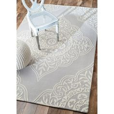 nuLOOM Handmade Abstract Fancy Wool Rug (5' x 8') - Free Shipping Today - Overstock.com - 17270250 - Mobile