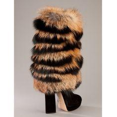 CASADEI Fur boot
