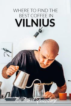 """Specialty coffee is fast becoming a """"thing"""" in Vilnius so if you find yourself in the Lithuanian capital, make sure to check out these cafes."""