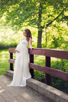 Maternity-Photos-Rochester-NY-and-white-maternity-gown-by-sew-trendy-accessories  Rochester NY Maternity Photos
