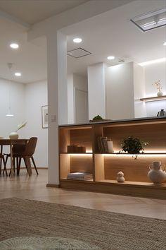 Limenteltä löydät laajan valikoiman erilaisia kattovalaisimia. Käy tutustumassa! #limente #LED #kattovalaisin #alasvalo #paneelivalaisin #keittiöremontti Led, Divider, Koti, Lights, Furniture, Home Decor, Decoration Home, Room Decor, Home Furnishings