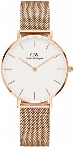 DW00100163 - Daniel Wellington - Classic Petite dameklokke, Rosé gull, 32 mm