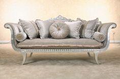 European Sofa, Sliver Grey Velvet Fabric Sofa Livingroom Furniture ...400 x 266 | 29.8KB | www.3dmodelfree.com