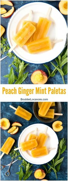 Peach Ginger Mint Pa
