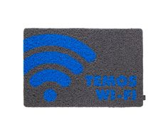 Capacho Wi-Fi - Cinza