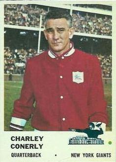 1961  Charley Conerly New York Giants