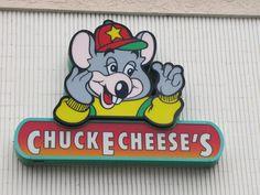 Chuck E. Cheese Sign Logo