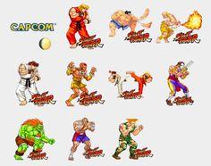Street Fighter Stickers Set | Telegram Stickers