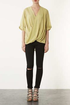 Casual Drape Top