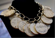 Elizabeth Taylor's necklace was made of antique ivory opera tokens from the 18th and 19th century, and was valued at $1,500 to $2,000 but wa...