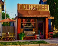 Traverse City Restaurants: Mario Batali names The Cooks' House and Frenchies Famous in his list of nine favorite restaurants.