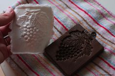 Paper Casting Gift Tags and Ornaments Using Cookie Molds and Facial Tissue