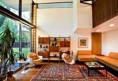 A BEAUTIFUL LITTLE LIFE: Sensational Mid-Century Modern Home