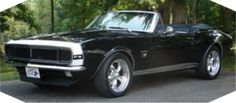 1967 Camaro- I could drive this.