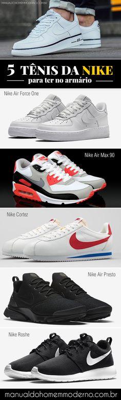 Tênis masculinos da Nike que você tem que ter.