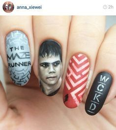 the maze runner nails - Google Search