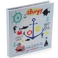 anchors ahoy slipin album at Paperchase