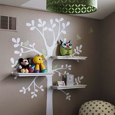 When I get to decorate a room for little visitors. Decor and functionality!