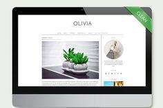 Olivia - Simple Wordpress Theme