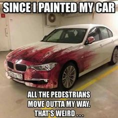 I need to know who painted this. So I can hace him/her pain my car like that so I can skip traffic