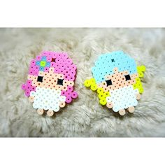 Little Twin Stars perler beads by tatemo18