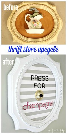 DIY Thrift Store Upcycled Frame