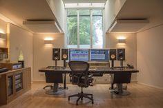 The Art Studio control room
