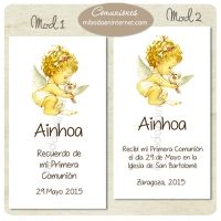 Recordatorio de Primera Comunión - C06053R Place Cards, Place Card Holders, Signature Book, First Holy Communion, Invitations