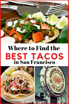 8 Best Tacos in San Francisco with a 2020 Update. The best birria tacos, fish tacos, street tacos, chile verde and tacos de guisado in SF! Looking for the best taqueria and tacos in San Francisco? This is the ultimate list of the best taco shops in San Francisco. Where to find the most delicious carnitas, fish taco, and quesabirria in San Francisco. Best Mexican food in San Francisco. San Francisco Shopping, San Francisco Food, Best Mexican Recipes, Ethnic Recipes, Taco Shop, Street Tacos, Carnitas, Fish Tacos, California Travel