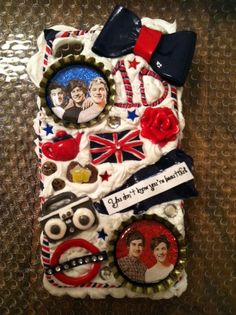 One Direction Phone Case iPhone 4 by RaychelEllen on Etsy, $28.00