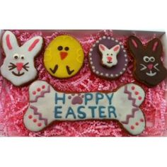 Easter gifts for dogs easter candy easter and dog 12 assorted easter dog treats in gift box make your dog an easter basket negle Image collections