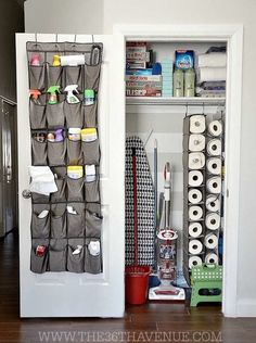 Mar 2017 - Small closets present big challenges. But there are a bevy of brilliant organizing solutions you can employ to make even the most diminutive closet a storage workhorse. Check out the genius ideas we found in these 15 creative closets. Storage Hacks, Diy Storage, Storage Solutions, Locker Storage, Organizing Solutions, Storage Ideas, Creative Storage, Closet Solutions, Shoe Storage