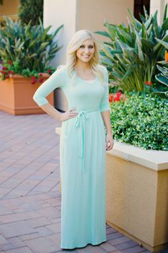 Mint Maxi ~ Bay Area Blonde