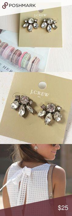 Lovely necklace! Beautiful jcrew stud earrings, new with tag. J. Crew Jewelry Earrings