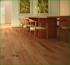 Exotic floors are all the rage. Their rich natural colors and unusual grain patterns really make a floor stand out and their naturally much harder and more durable than a traditional Red Oak or Maple. This is a picture of Natural Amendoim. Definitely check out exotic species for an interesting and beautiful addition to your home!