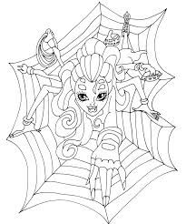 elephant monster high coloring pages - photo#27