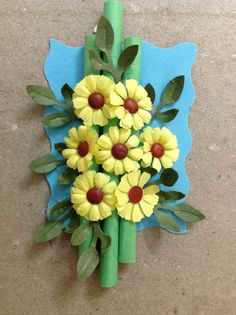 The 89 best floral punch craft images on pinterest flower crafts lovely mightylinksfo