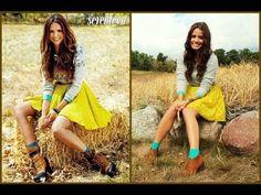 Get the Look: Nina Dobrev Seventeen Magazine October 2012