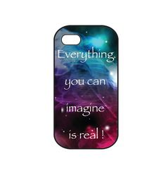 Galaxy iphone 4s case quotes iphone 4 cover by iDesignCase on Etsy, $30.00