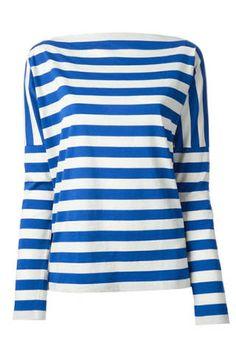 Stella Jean Striped Jersey Shirt, $275;