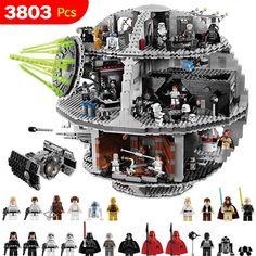 Etoile de la Mort Star Wars Blocs Lego 3803 pièces