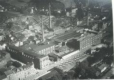 Alte Textilfabrik von Greiz Germany....