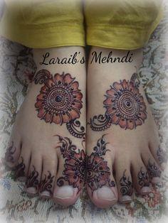 Laraib's mehndi design for brides