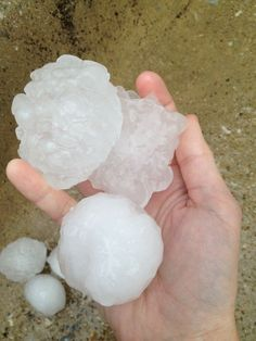 Hail-Unbelievable Pictures Of The Tornadoes That Hit The Dallas/Fort Worth area, I was fortunate enough to be driving home from church in this storm. I thought hail had broken car windows, it was so loud.  Scary..