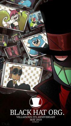 - Cartoon Videos Kids For 2019 Cartoon Crossovers, Cartoon Gifs, Cartoon Shows, Desenhos Cartoon Network, Dr Flug, Hat Organization, Villainous Cartoon, Monster Prom, Fan Art