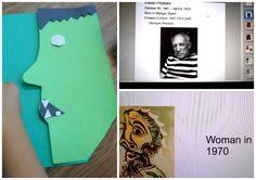 Last week one of our third grade teachers wanted to try out this lesson that she had seen on Pinterest using Picasso and Halloween as the mo...