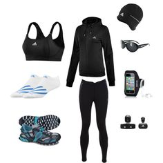 """Bella's - Running Outfit - """"Where There is Love … There is Life"""" - Chapter 8; created by heartfeltpen.polyvore.com"""